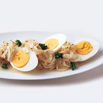 ゆで卵の粒マスタードマリネ