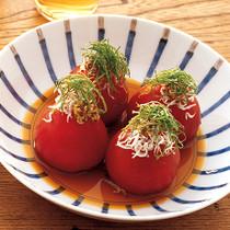 めんつゆ冷やしトマト