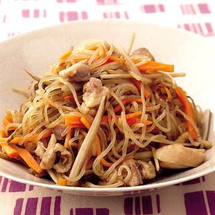 とりと根菜の炒め煮