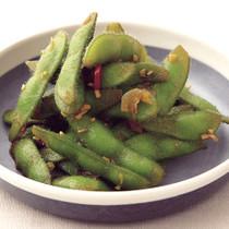 枝豆のにんにくじょうゆ風味