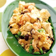 えびと豆腐のチャンプルー