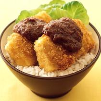 豆腐みそカツ丼