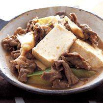 こっくり肉豆腐