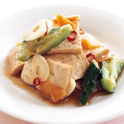 豆腐の中華風ピクルス