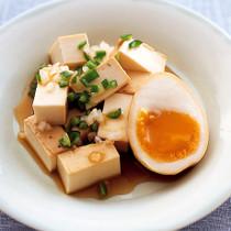 豆腐のめんつゆ漬け