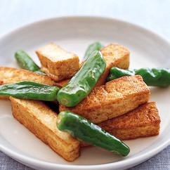 豆腐のソース焼き