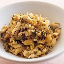 高菜いり豆腐