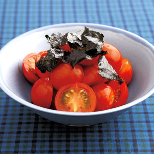 ミニトマトの和風ナムル