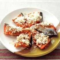 塩鮭のパン粉焼き