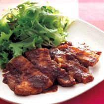 豚肉のマーマレードソテー