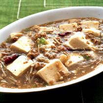 えのき入り白麻婆豆腐