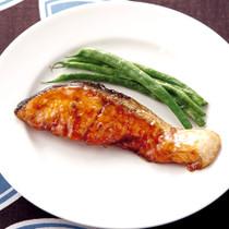 鮭のバター照り焼き