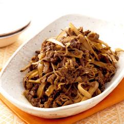 牛肉のカレーしぐれ煮