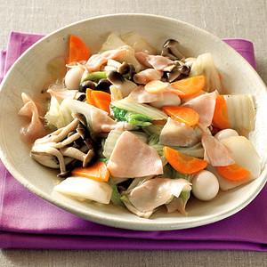ハムと白菜のうま煮
