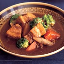 煮豚スープカレー