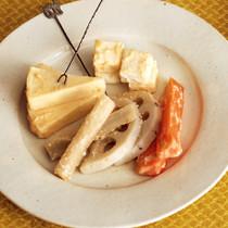 根菜とチーズのみそ漬け