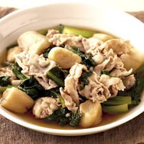 豚と小松菜の炒め煮