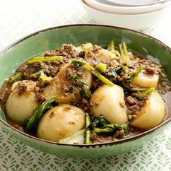 かぶの和風カレー煮