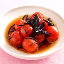 ひじきとミニトマトのポン酢マリネ