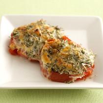 トマトのしらすチーズ焼き