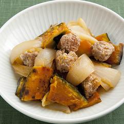 豚肉と玉ねぎの甘辛煮