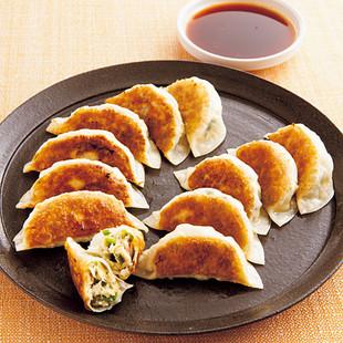 ツナ入り豆腐餃子