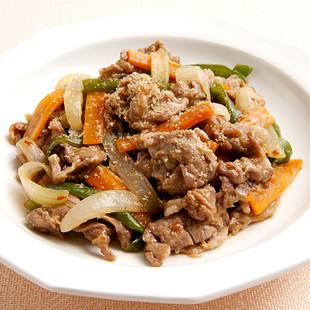 豚肉とたっぷり野菜のピリ辛蒸し