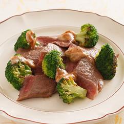 牛肉のみそバターステーキ