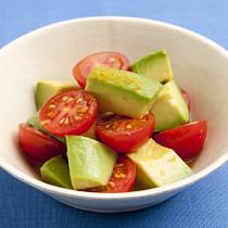アボカドとミニトマトのカレー風味ピクルス