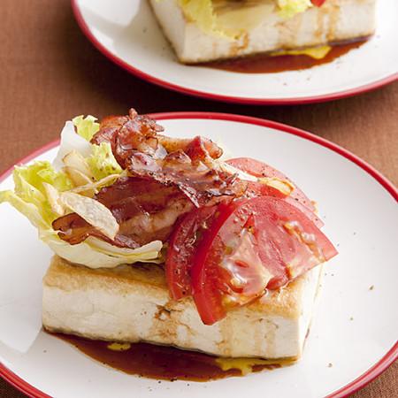 BLT豆腐ステーキ