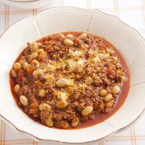大豆のトマト煮 チリコンカーン風