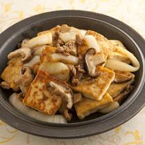 豆腐の中華そぼろ炒め