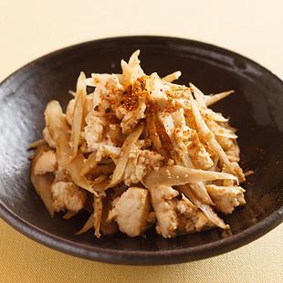 ごぼう入り炒り豆腐