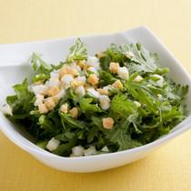 春菊とゆで卵のサラダ