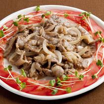 豚肉の甘酢炒め