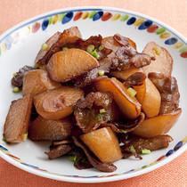 豚バラと大根の炒め煮