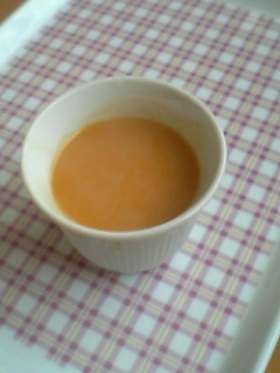 寒天☆かぼちゃプリン!