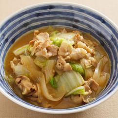 豚肉と白菜の和風カレー煮