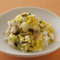 白菜と昆布の浅漬け