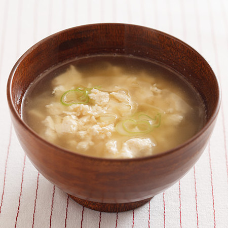 しょうがたっぷりいり豆腐汁