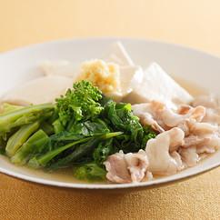 菜の花と豚肉のうま煮
