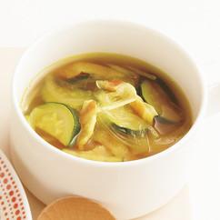 ズッキーニのカレースープ