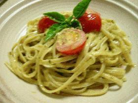vege2 トマトとバジルPのクリィーミィーパスタ
