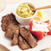 牛のメキシコ風焼き肉