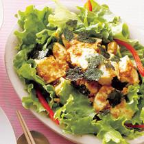 豆腐のチョレギサラダ