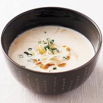 豆もやしの豆乳スープ