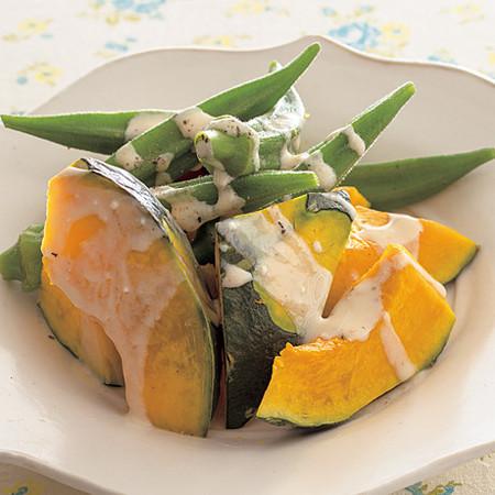 蒸し野菜のサワーポンソース