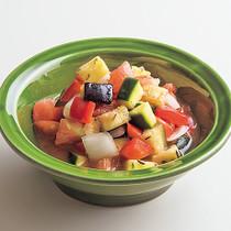 夏野菜のラタトゥイユ風漬け