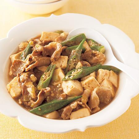みそ風味の肉豆腐