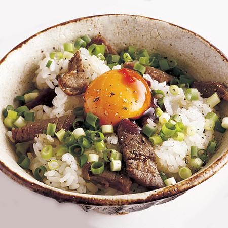 焼き肉卵かけご飯